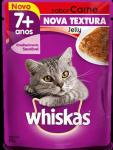 WHISKAS SACHE JELLY CARNE SENIOR 7+ 85GR